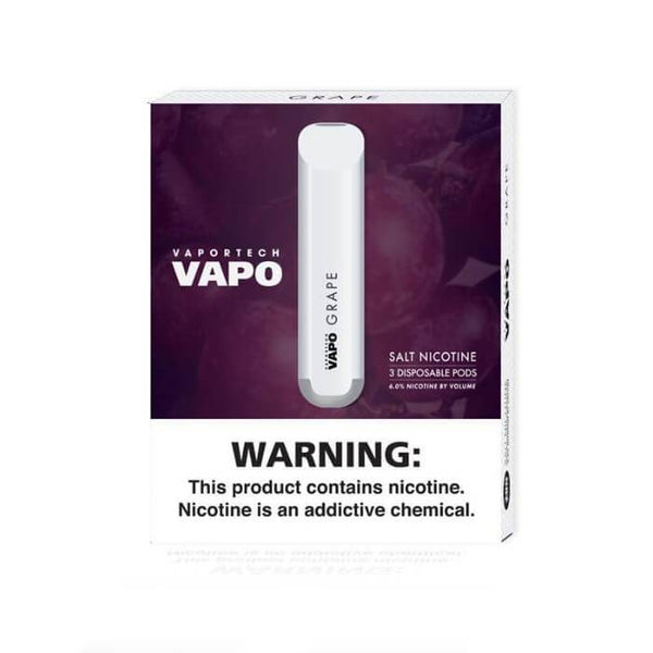 VaporTech Vapo Pods Grape Disposable Pod Device