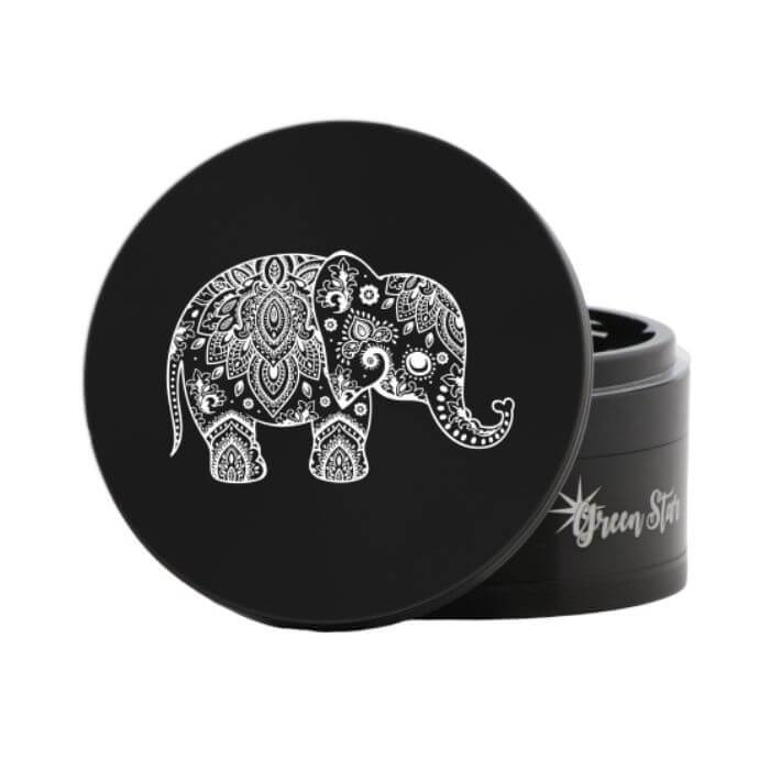 Green Star Elephant Herbal Jumbo Size Grinder