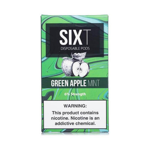 Sixt Pods Green Apple Ice