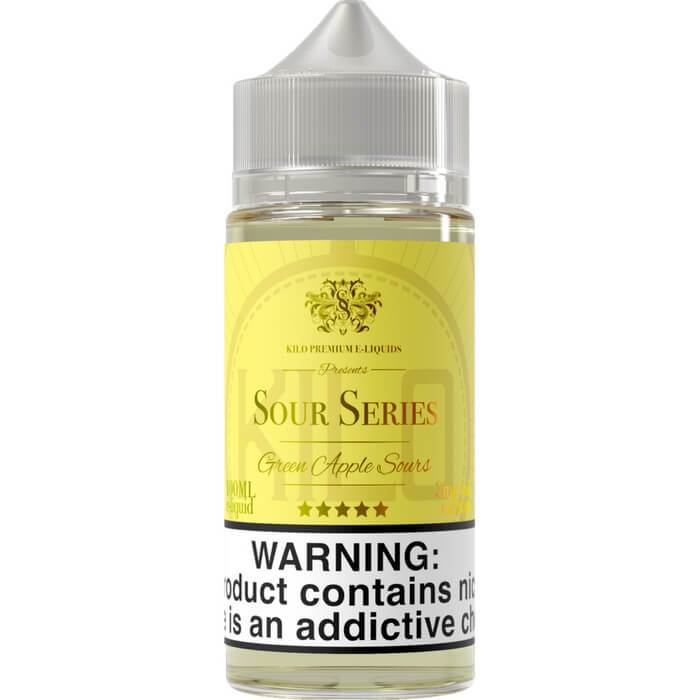 Green Apple Sours by Kilo E-Liquids Sour Series #1