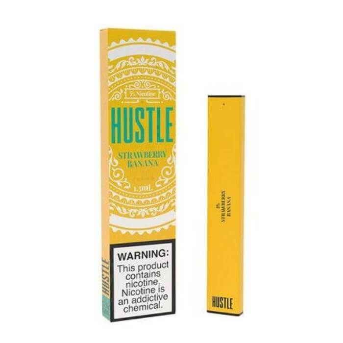 Hustle Strawberry Banana Disposable Device