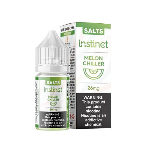 Instinct Melon Chiller by VR (VapeRite) Labs Nicotine Salt E-Liquid #1