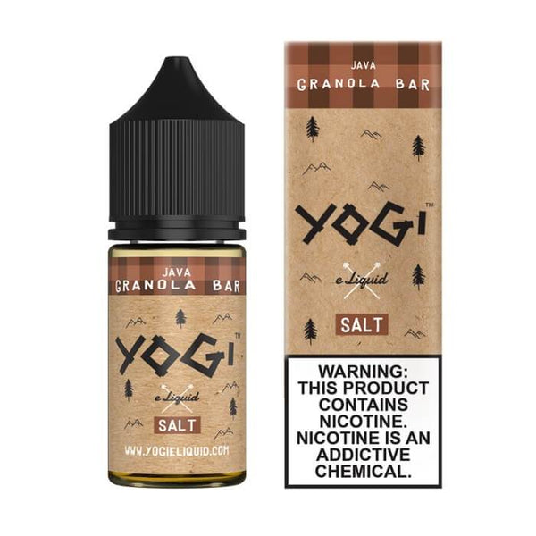 Java Granola Bar by Yogi Nicotine Salt E-Liquid #1