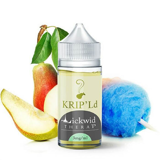 KRIP'Ld Damented Nicotine Salt by Lickwid Thera P eJuice #1