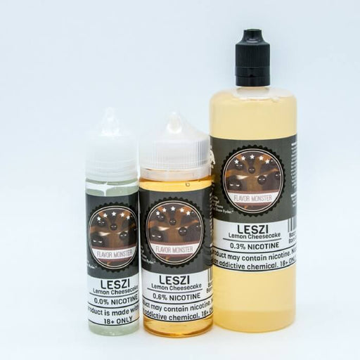Leszi Lemon Cheesecake by Flavor Monster E-Liquid #1