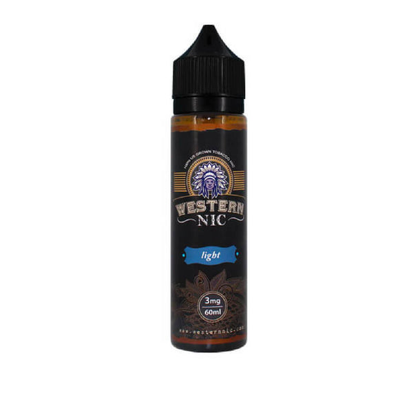 Light Tobacco by Western Nic eJuice #1