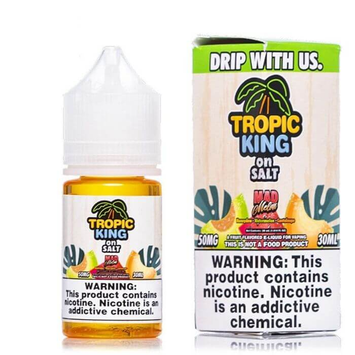 Mad Melon Nicotine Salt by Tropic King eJuice