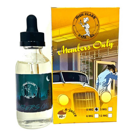 Members Only by High Class Vape Co Premium Line E-Liquid #1