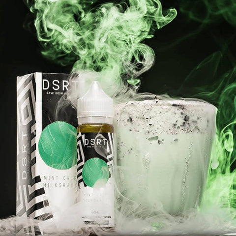Mint Chip Milkshake by DSRT eJuice #1