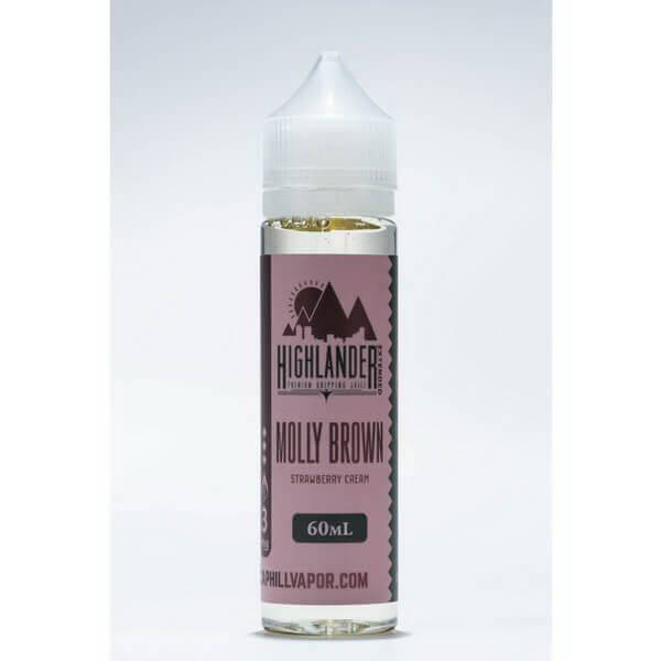 Molly Brown by Highlander Premium Dripping Juice Extended E-Juice #1
