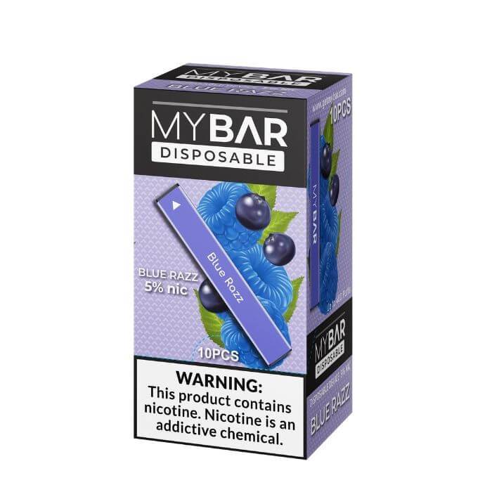 My Bar Blue Razz Disposable Device