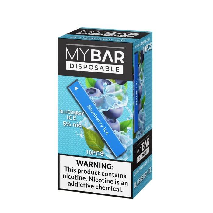 My Bar Blueberry Ice Disposable Device