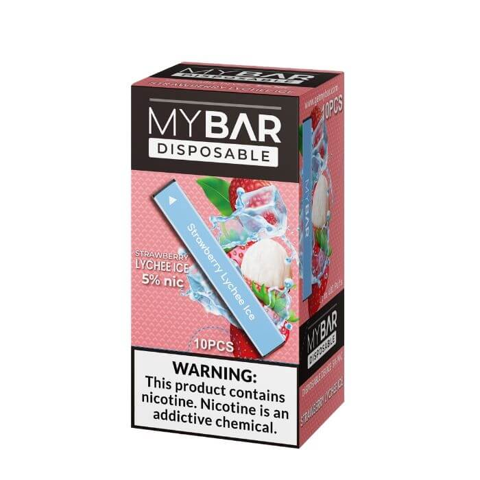My Bar Strawberry Lychee Ice Disposable Device