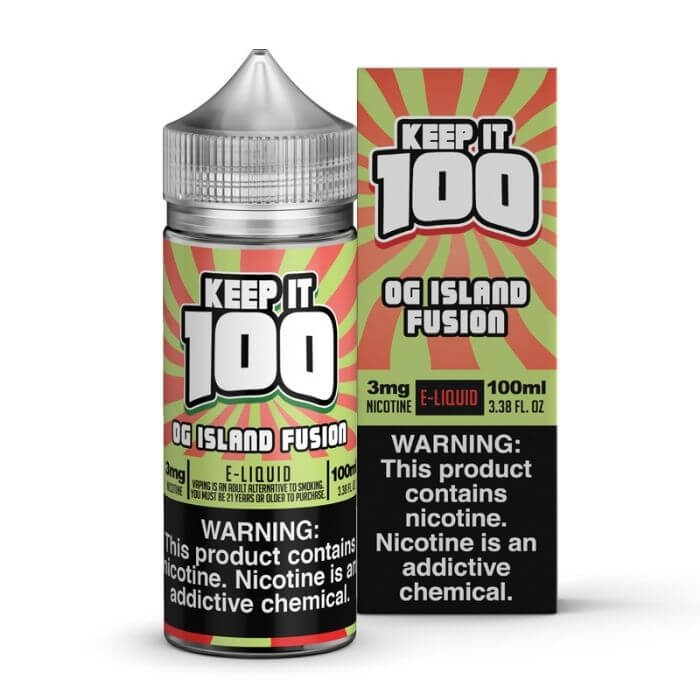 OG Island Fusion by Keep It 100 eJuice