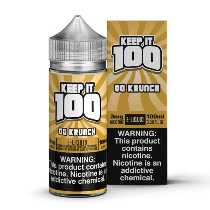 OG Krunch by Keep It 100 eJuice