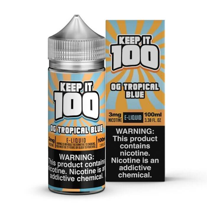 OG Tropical Blue by Keep It 100 eJuice