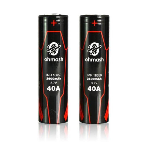 Ohmash Hardware 18650 2500mAh 40A Battery (2-Pack) #1