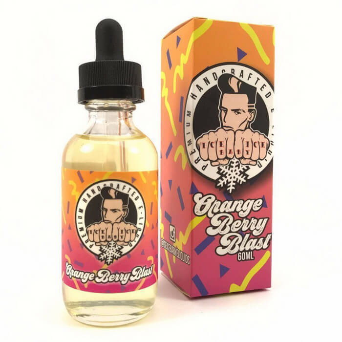 Orange Berry Blast by Ice Ice Baby Premium E-Liquid #1