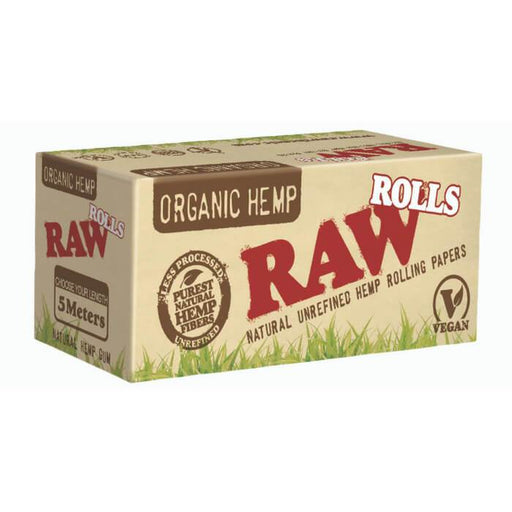 Raw Rolling Papers Organic Hemp 5 Meter Rolls #1