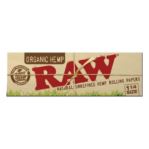 Raw Rolling Papers 1 1/4 Organic Hemp #1