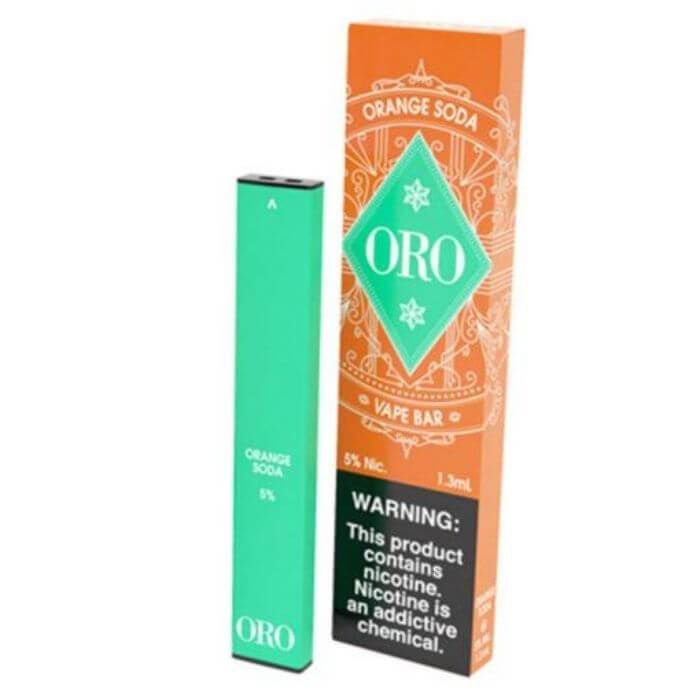 Oro Orange Soda Disposable Device