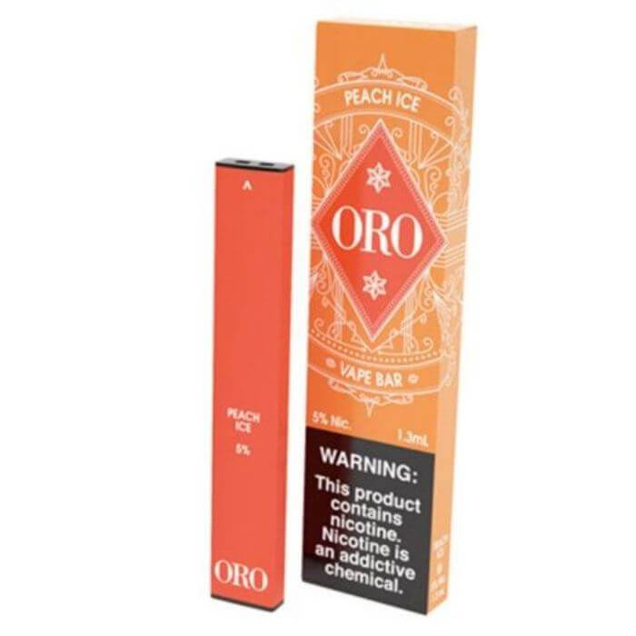 Oro Peach Ice Disposable Device