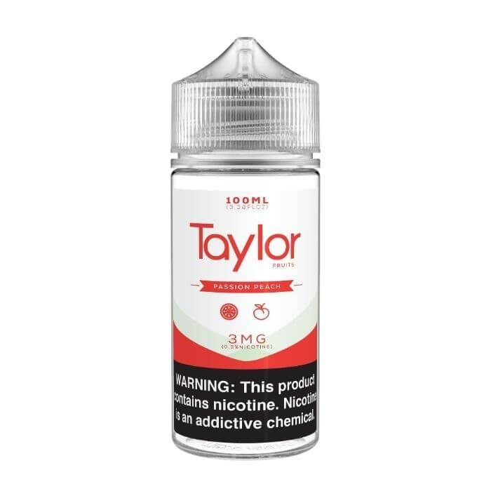 Passion Peach by Taylor Flavors E-Liquid