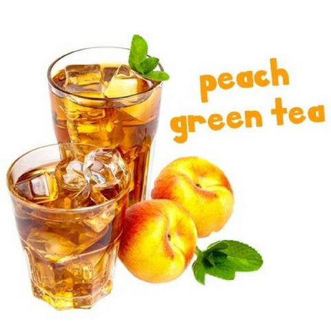 Peach Green Tea by Pink Spot Nicotine Salt E-Liquid image #2