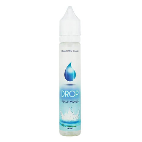Peach Mango by Drop Salt Nicotine E-Liquid #1