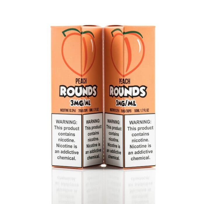 Peach by Rounds eJuice #1