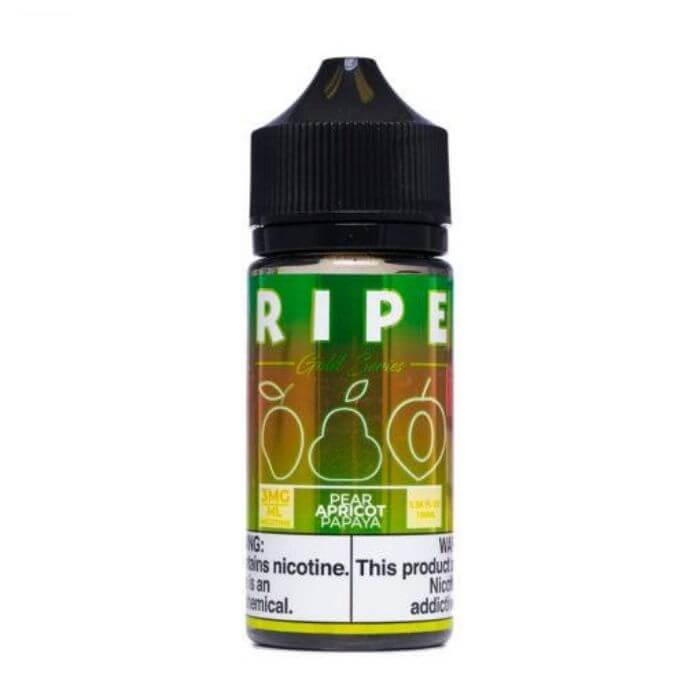 Pear Apricot Papaya by The Ripe Gold Series Collection by Vape 100 E-Liquid
