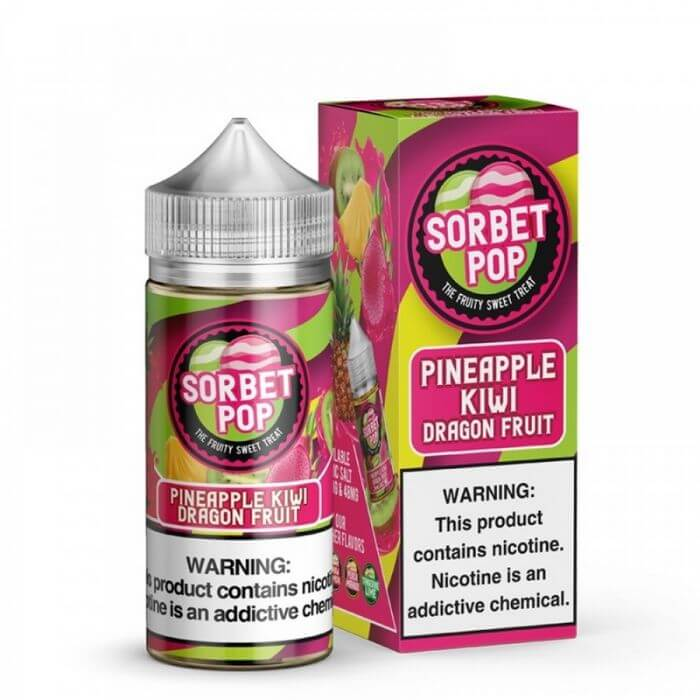 Pineapple Kiwi Dragon Fruit by Sorbet Pop E-Liquid