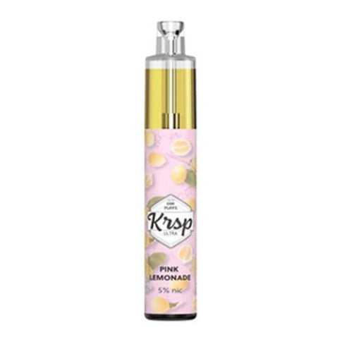 Pink Lemonade Disposable Device by KRSP Ultra 2200 Puffs
