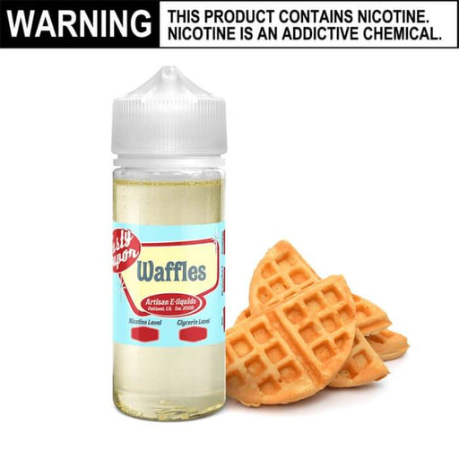 Plain Waffles by Tasty Vapor E-Juice #1