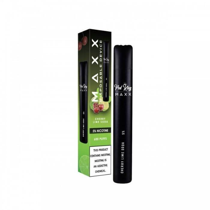 Pod King Maxx Cherry Lime Soda Disposable Device