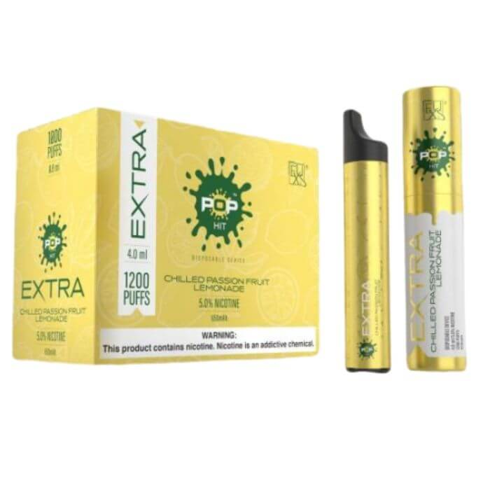 Pop Extra Chilled Passionfruit Disposable Device