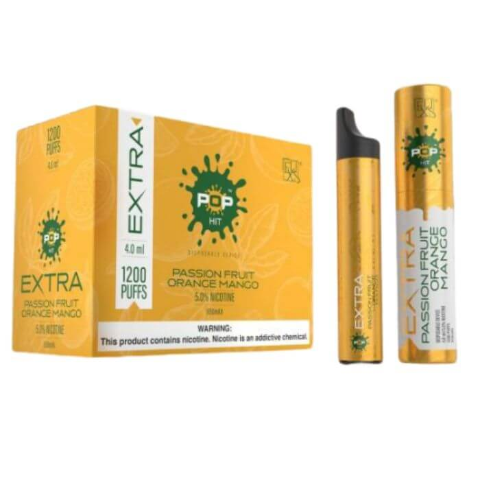 Pop Extra Passionfruit Orange Mango Disposable Device
