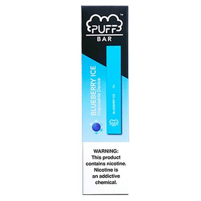 Puff Bar Blueberry Ice Disposable Pod