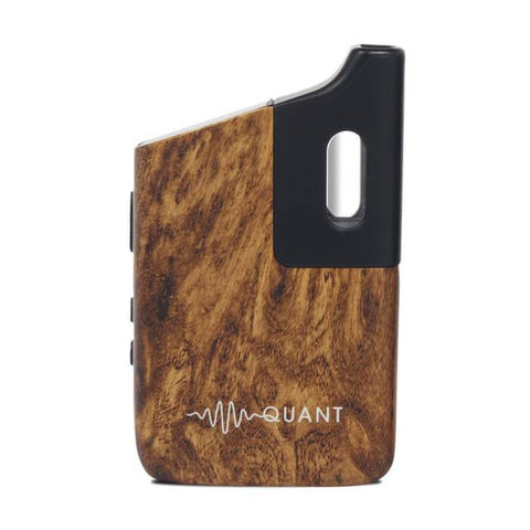 Quant Flower Walnut Wood Vaporizer by Quant Vapor Hardware