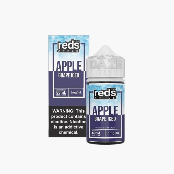 Reds Grape Iced by Reds Apple eJuice