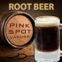 Root Beer by Pink Spot Nicotine Salt E-Liquid