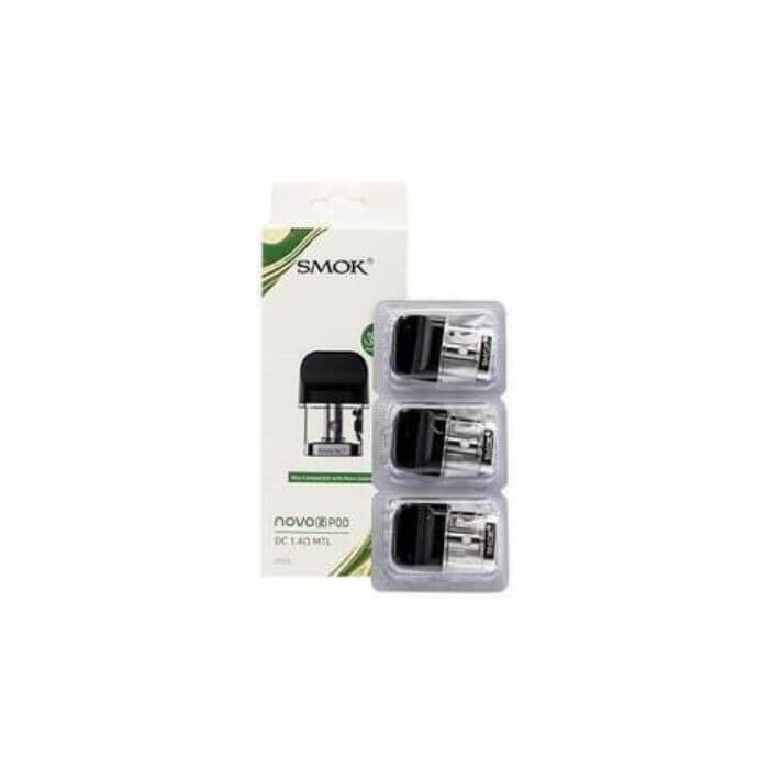 SMOK NOVO 2 Quartz Replacement Pods with Coils (3-Pack)