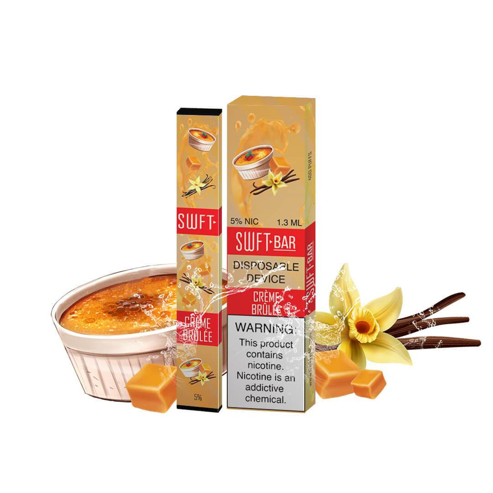 SWFT Bar Creme Brulee Disposable Device