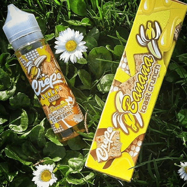 Banana Toast Crunch by Crepe Vapery E-Liquid #1