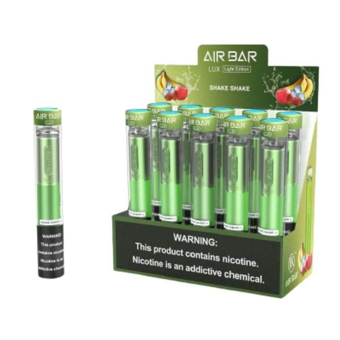Shake Shake Disposable Device by Air Bar Lux Light Edition