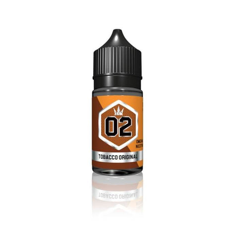 Silver #02 - Tobacco Original by Crown E-Liquid #1