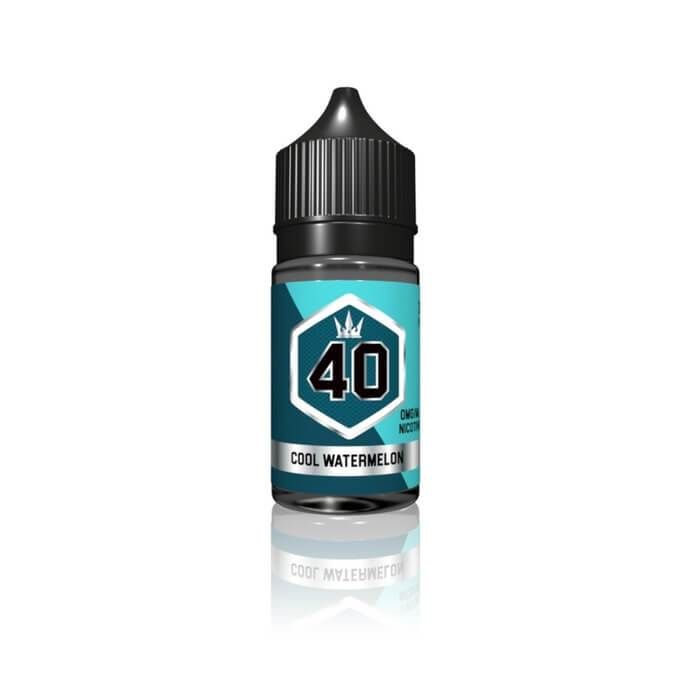 Silver #40 - Cool Watermelon by Crown E-Liquid #1