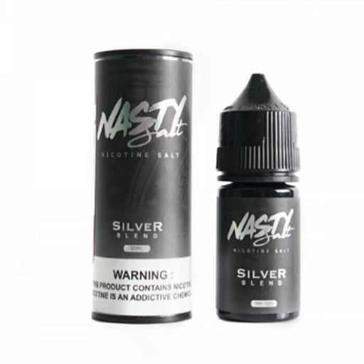 Silver Blend by Nasty Juice Nicotine Salt E-Liquid