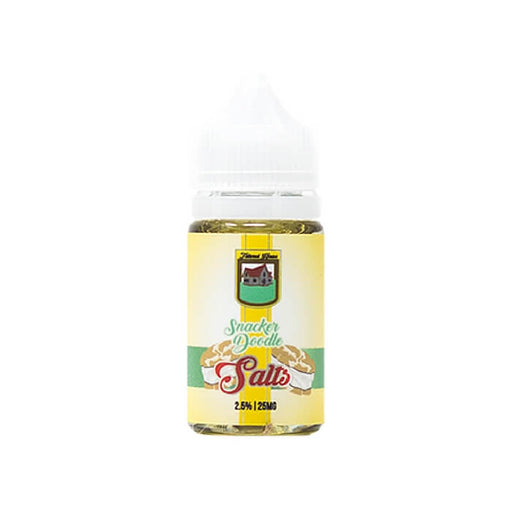 Snacker Doodle Nicotine Salt by Tailored House eJuice #1