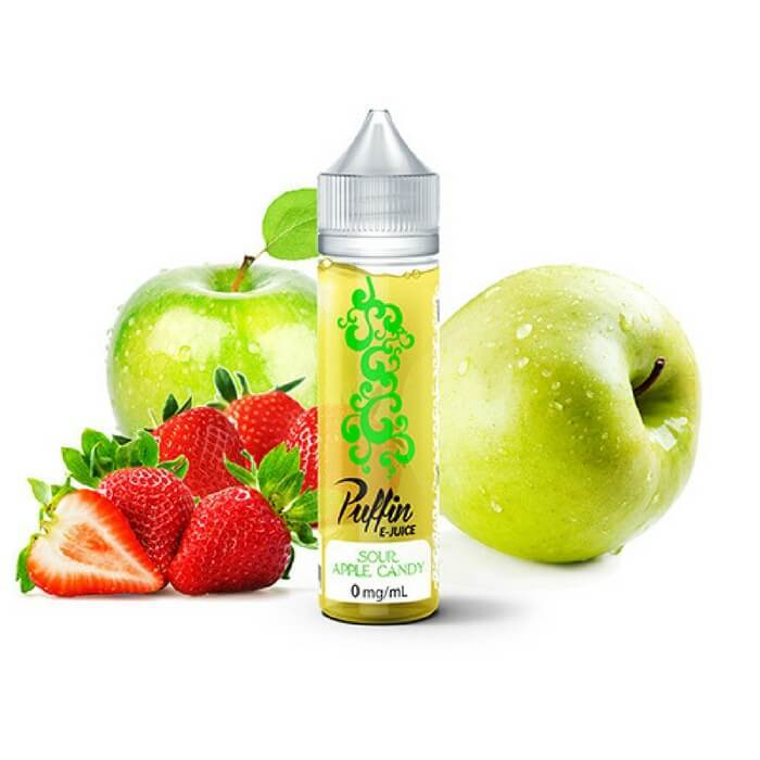 Sour Apple Candy by Puffin E-Juice #1